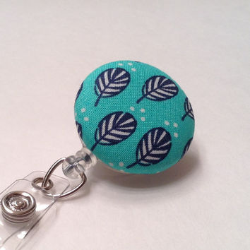 Badge Reel, Retractable Badge Holder, Nurse Key Card Holder, Swivel Badge Clip, ID Holder, Name Badge Holder, Retractable Lanyard, Feathers