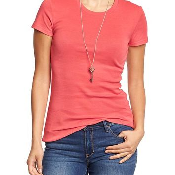 Old Navy Perfect Crew Neck Tees
