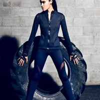 Michi - Illusion Workout Jacket | Activewear Jacket