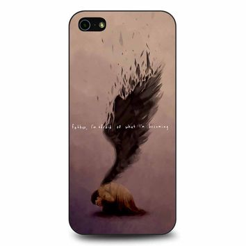 Supernatural Castiel Quote iPhone 5/5s/SE Case