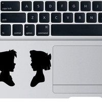 Peter Pan Decal For Apple Macbook Disney Wendy Sticker Laptop Peter Pan Neverland Car Window Wall Vinyl Sticker