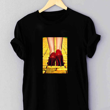"Yellow Brick Road Dorothy Wizard of Oz Inspired Cute Ruby Red - T Shirt for man shirt, woman shirt ""NP"""