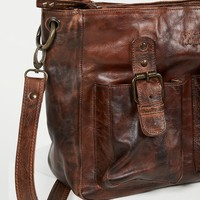 Free People Parton Leather Tote