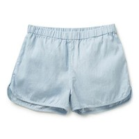 Teen Girls Shorts | Chambray Short | Seed Heritage