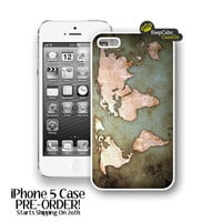 IPhone 5 Case, Vintage World Map IP.. on Luulla