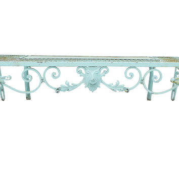 French-Style Garden Bench