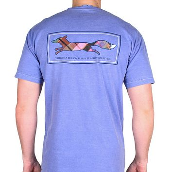 Longshanks Tee Shirt in Flo Blue by Country Club Prep
