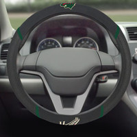 "Minnesota Wild Steering Wheel Cover 15""x15"""