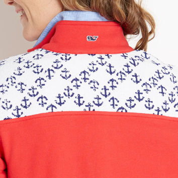 Anchor Print Shep Shirt