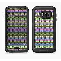 The Colorful Knit Pattern Full Body Samsung Galaxy S6 LifeProof Fre Case Skin Kit