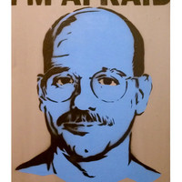 TOBIAS FUNKE: Arrested Development Blue Myself Original Artwork
