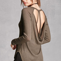 Cowl Strappy Back Top