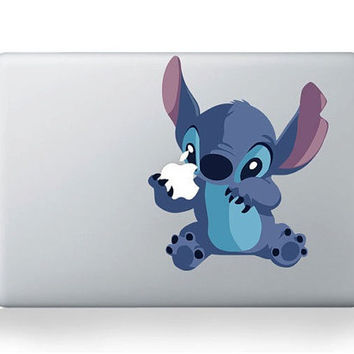 stitch Macbook decals Mac decal Macbook pro decal by happydecals
