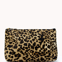 Leopard Print Cosmetic Pouch