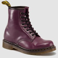Dr Martens 1460 Boot PURPLE MILLED SMOOTH - Doc Martens Boots and Shoes