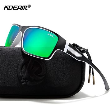 Outdoor Polarized Sports Sunglasses 55