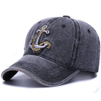Brand washed soft cotton baseball cap hat for women men vintage dad hat 3d embroidery casual outdoor sports cap