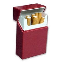 Hard Box Full Pack Cigarette Case (King Size) (Assorted Colors) #ch25