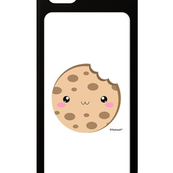Cute Matching Milk and Cookie Design - Cookie iPhone 5 / 5S Grip Case  by TooLoud
