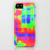 Color squares iPhone & iPod Case by Silvianna