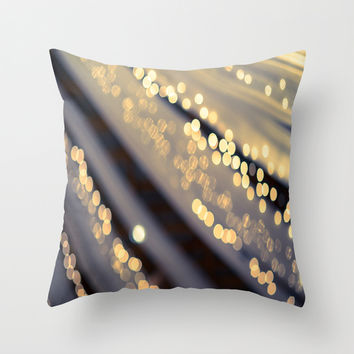 Second Star to the Right Throw Pillow by The Dreamery
