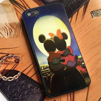 Romantic Mickey Minnie Mouse iPhone 7 7+ 6s 6 Cases Samsung Galaxy S8 S7 edge S6 S5 NOTE 5 4