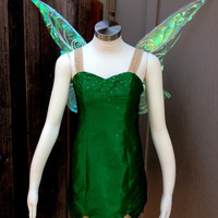 Tinkerbell H Costume Fairy Adult in Shantung Satin by Bbeauty79