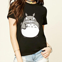 summer Hot cute chinchilla women's T-shirt casual short sleeved sexy shirt 100% high quality cotton kawaii for lady