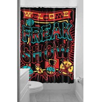 Clothing Freak Show Shower Curtain/Polyester/Mildewproof/waterproof/Freak Show Shower Curtains/bathroom (Size: 180cm by 180cm, Color: Multicolor)