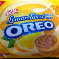 Nabisco, Oreo, Lemon Twist (Extremely Limited Edition), 15.25oz Bag ( 2 Pack )