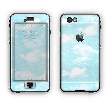 The Vintage Cloudy Skies Apple iPhone 6 Plus LifeProof Nuud Case Skin Set