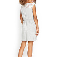 FOREVER 21 GIRLS Lace-Paneled Dress (Kids)