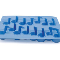 Kikkerland Design Inc   » Products  » Ice Tray + Music Notes