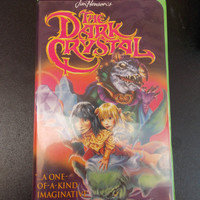 Vintage The Dark Crystal VHS Tape Movie