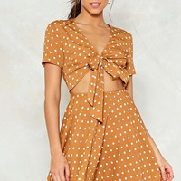 Knot in This Lifetime Polka Dot Dress