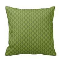 Modern Green  MOJO Pillow