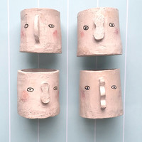 Exclusive Collaboration Ceramic Planter / Pot by Megan Clarke