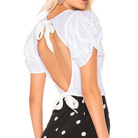 Free People Star Struck Tee in Ivory | REVOLVE