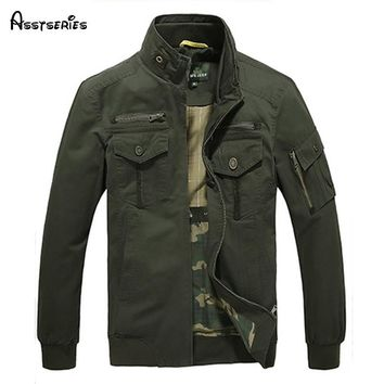 Assteries Brand Men's Military Style Coat