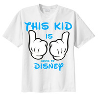 Going To Disney T Shirt , Kids Disney T Shirt , Mickey Mouse T Shirt