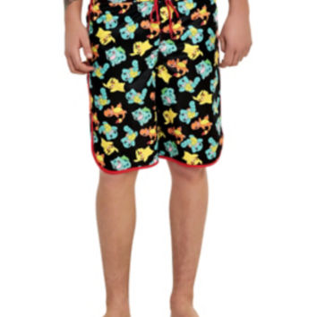 Pokemon Starters Swim Trunks