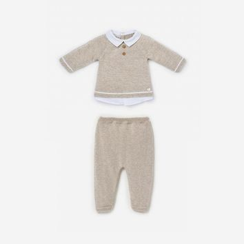 Paz Rodriguez Baby Boys' Knit Sweater Set