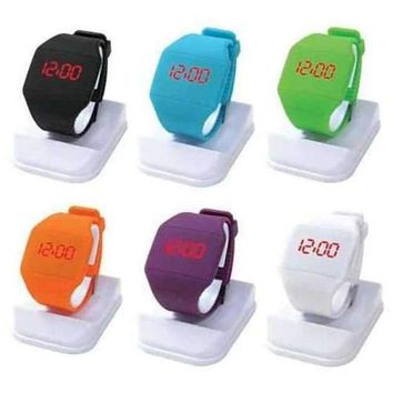 The FACE OFF LED Watch - Plain and simple it's about time !