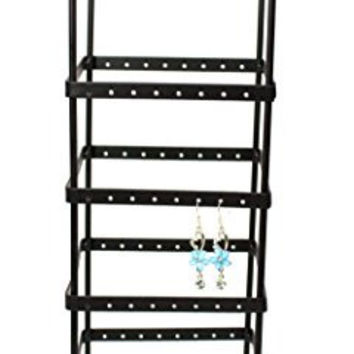 108 Pairs Tower Metal Black Color Earring Holder / Earring Tree / Earring Organizer / Earring Stand / Earring Display
