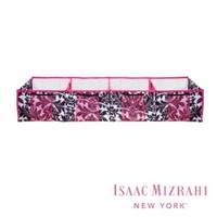 Isaac Mizrahi Expanding Trunk Organizer - 4 Compartments, Damask Design
