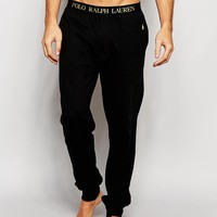 Polo Ralph Lauren | Polo Ralph Lauren Cuffed Lounge Pants In Slim Fit at ASOS