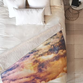 Shannon Clark Cosmic Fleece Throw Blanket
