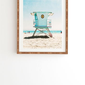 Bree Madden Santa Cruz Summer Framed Wall Art