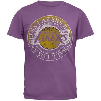Los Angeles Lakers - Basketball Logo Soft T-Shirt