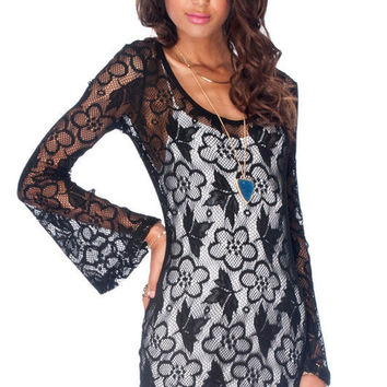 I Want U-Back Lace Dress